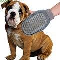 Cat Dog Pet Grooming Noivo Luva Banho Mitt Cão Pente Escova de Limpeza Massagem Saúde do animal de Estimação do Filhote de Cachorro Suprimentos Grooming Para Cães