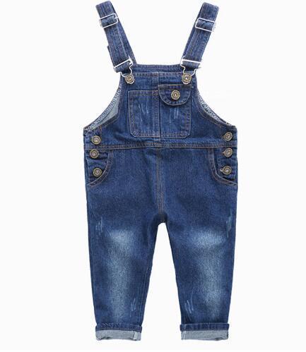 2016 de otoño de ropa para niños niñas pantalones de mezclilla azul pantalones vaqueros del bebé de niños niñas niños causales jeans trajes de largo pantalón
