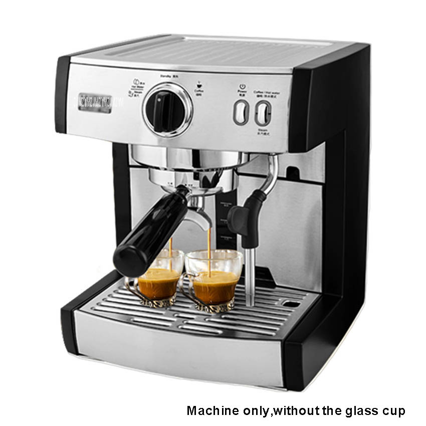 KD 130 1350W Professional Cafe Cappuccino Mocha Espresso Coffee Machine 15 bar Thermoblock Coffee Latte Cappuccino Maker 220V