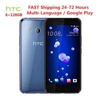 Original HTC U11 4G LTE 6GB RAM 128GB ROM Snapdragon 835 Octa Core 5 5 Inch