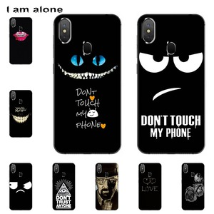 I am alone Phone Cases For Leagoo S9 5.85 inch Soft TPU Mobile Fashion Cute Shell For Leagoo S9 Cellphone Bags Free Shipping(China)