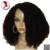 4*4 Superior de Seda Pelucas Llenas Del Cordón Con Rayita Natural 100% 8A brasileño de la Virgen Del Pelo Humano Rizado Rizado Toda la Peluca de Encaje Negro Para mujeres