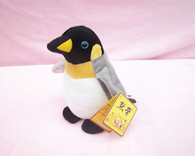 mini cute plush penguin toy high quality voiced penguin doll gift about 18cm
