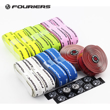 Fouriers PU Bicycle Drop Handlebar Tape Wraps With Holes Bike Belts For Fixed Gear Road Bike Handle bar