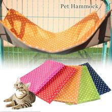Cat Cage Hammock Waterproof Pink/Red/Rose/Blue/Green/Orange Rat Rabbit Hamater Cat House Mat Pad Rest Sleeping Cover Size S/L(China)