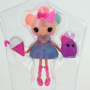 Image 5 - 3 inç orijinal MGA Lalaloopsy bebek aksesuarları, Mini bebek kız çocuk oyuncağı oyun evi her benzersiz