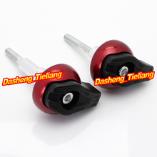 For Suzuki GSR600 2006 2010 Frame Sliders Crash Pads Protector Motorcycle Spare Parts Accessories Red Color