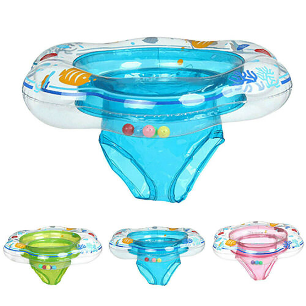 Baby Kid Swim Ring Inflatable Toddler Float Swimming Pool Water Seat Water Fun Children Shorts Swimming Rings