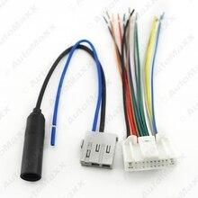 Car Audio Stereo Wiring Harness Antena Adaptador de Enchufe Para Nissan/Subaru/Infiniti OEM Fábrica de Radio CD # J-1638