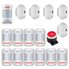 KERUI Wireless PIR Motion Sensor Detector Waterproof Pet Motion Sensor For GSM PSTN Home Security Burglar DIY Kits Alarm System