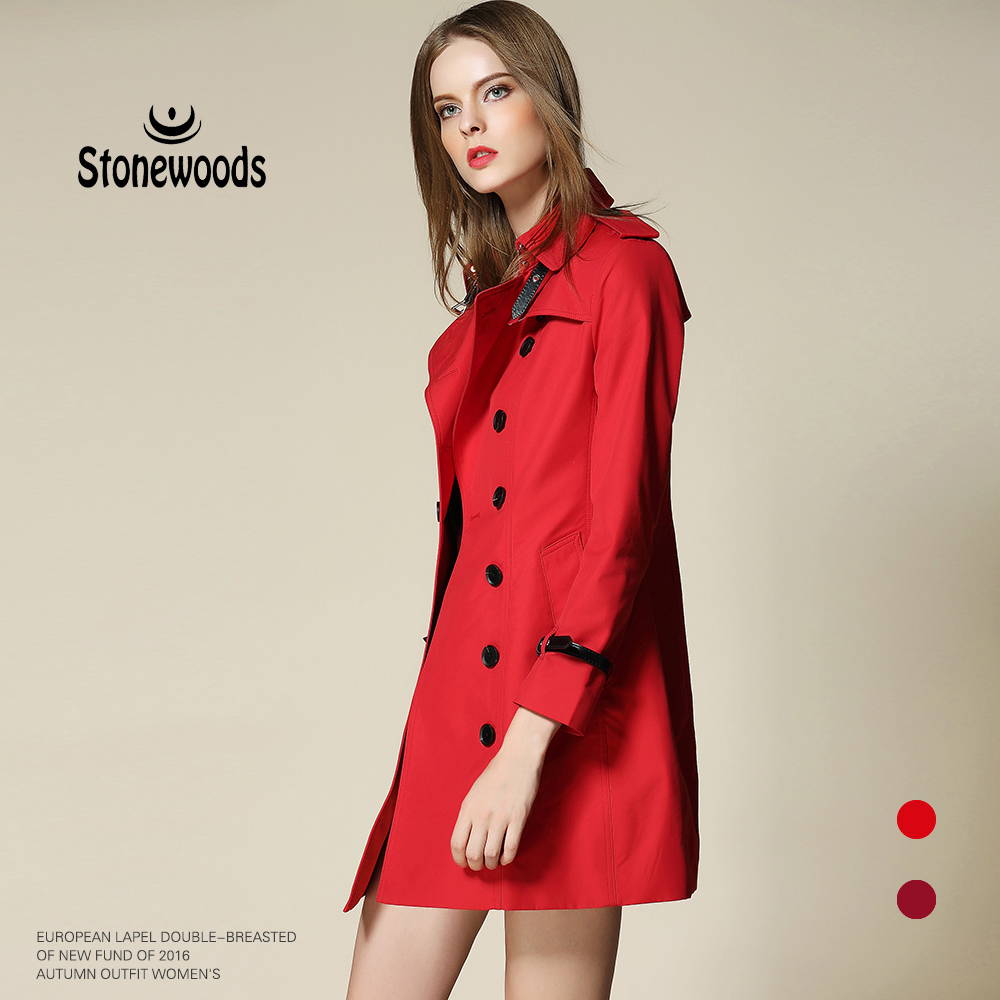 Manteau en gabardine promotion achetez des manteau en gabardine promotionnels sur - Manteau coupe masculine pour femme ...