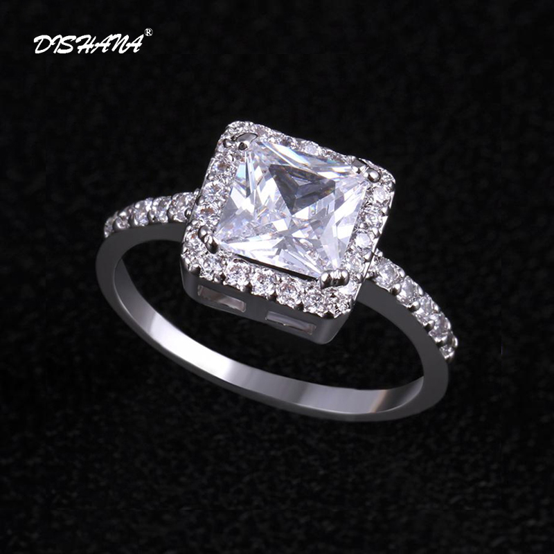 Hot New Design Fashion Noble -color jewelry gold -color Zircon Crystal Rings High-quality women jewelry (KA0035)