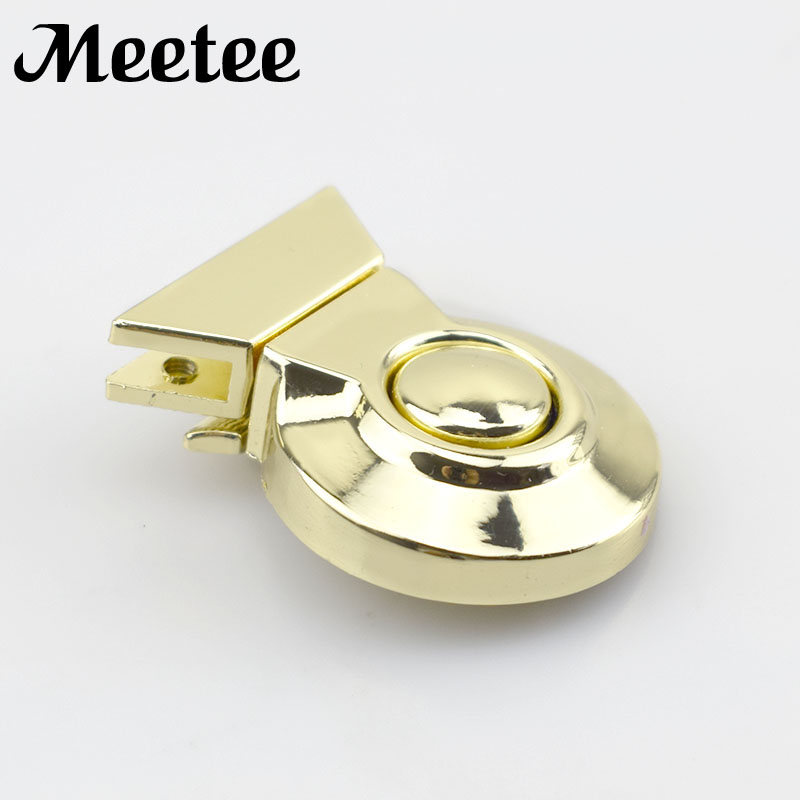Home & Garden 2pcs Fashion Metal Trunk Locks Replacement Bags Snap Hooks Purse Clasp Closure Lock Diy Crafts Accessories Ky2024 Ample Supply And Prompt Delivery
