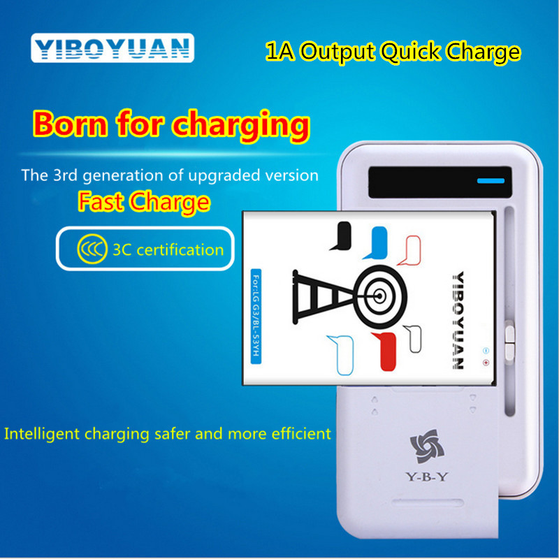 2018 Universal Mobile Phone Battery Charger For Cell Phones USB-Port LED Indicator The 3rd Generation Fast Charging Desktop