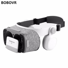 BOBOVR Z5 VR Glasses Virtual Reality goggles 3D glasses google Cardboard 2.0 bobo vr headset For 4.0″ – 6.0″ smartphone