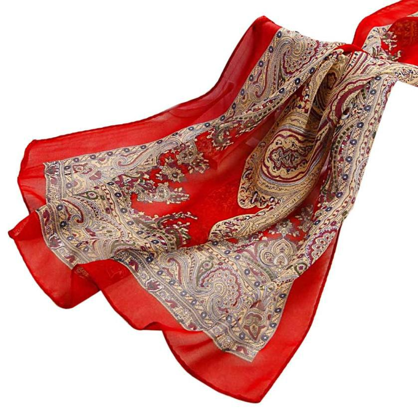 JECKSION Women Fashion Lady Long Soft Chiffon Scarf Wrap Shawl Stole Scarves Neckerchief Accessories China - ShenZhen Jecksion Trading Store store