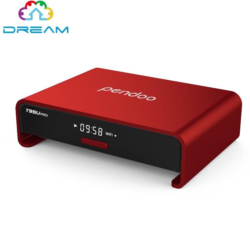 ФОТО Android TV Box Amlogic S912 Octa core 2GB/16GB Android 6.0 TV Box Pendoo T95U PRO WiFi 2.4G/5.8G 17.0 H.265 4K