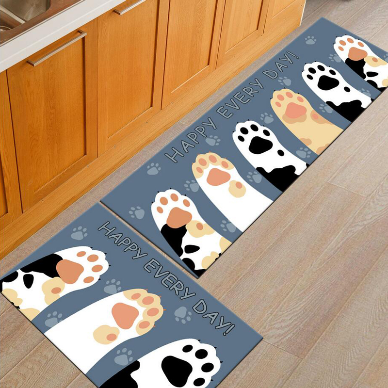 soft cartoon cats welcome floor mats animal print bathroom carpetssoft cartoon cats welcome floor mats animal print bathroom carpets kitchen mat doormat floor mat for living room non slip tapete in mat from home \u0026 garden