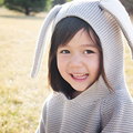 2016 Outono bonito New Baby Sweaters 3D Coelho Pulôver de Algodão Crianças Meninas Camisola de Malha para Meninas Meninos Cardigan