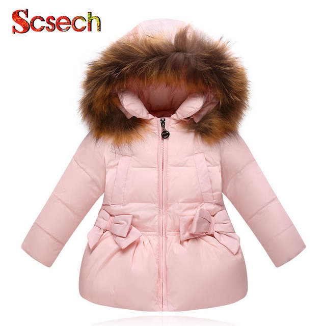 360b57569 Online Shop New Fashion Baby Girls Jackets Bow Tie Autumn Winter ...