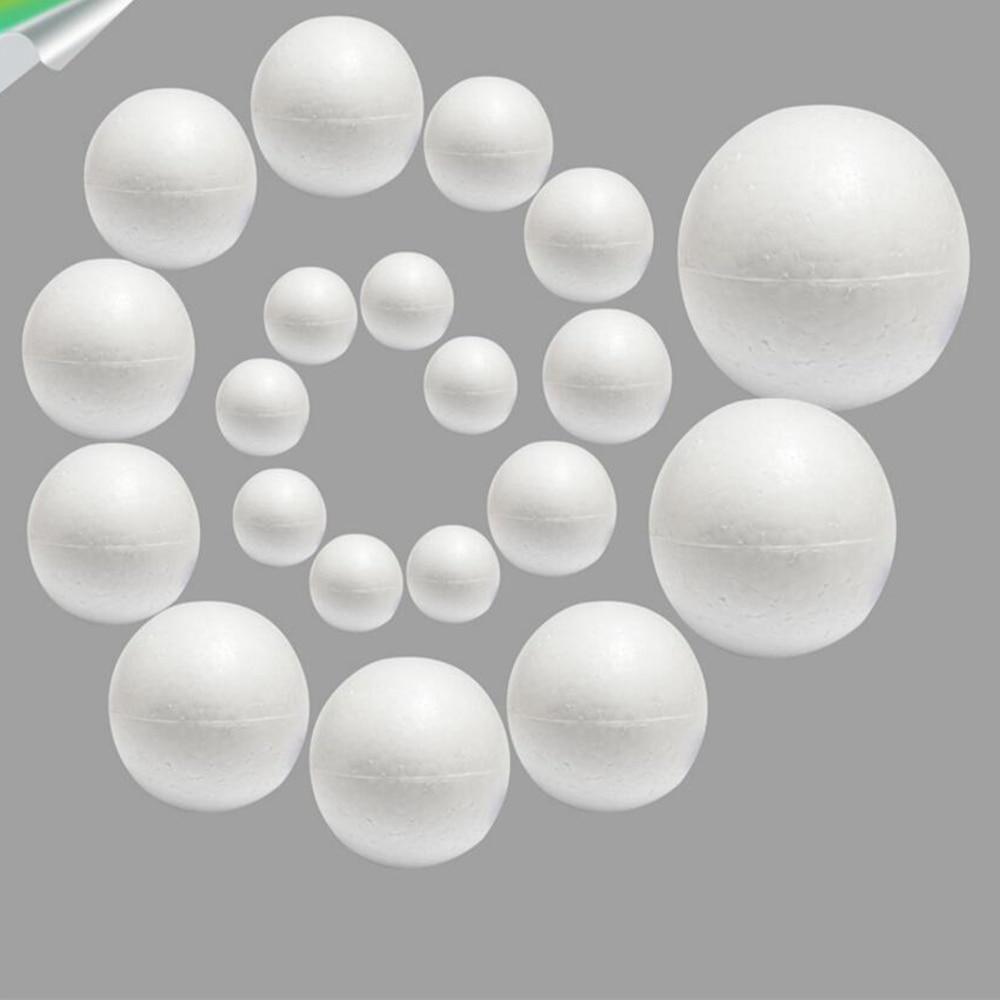 Мм 20 шт./лот 20 мм 25 пенопласт Творческий EPS Твердые маленький шар DIY ремесло белый пенопласт Рождество украшения