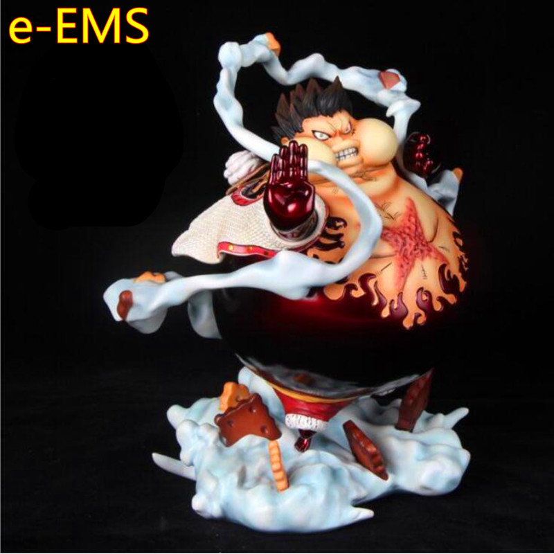 Anime ONE PIECE Satiation Gear Fourth Monkey D. Luffy Tank Man GK Resin Statue Action Figure Collection Model Toy G2592Anime ONE PIECE Satiation Gear Fourth Monkey D. Luffy Tank Man GK Resin Statue Action Figure Collection Model Toy G2592