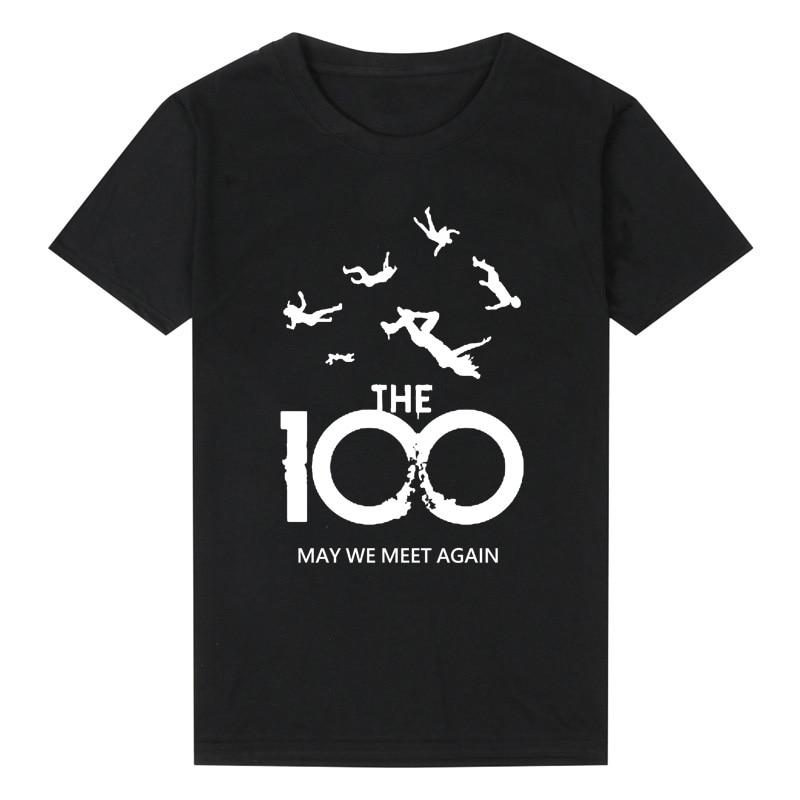 Fashion Summer T Shirt Men Women The 100 Tv Show T Shirt