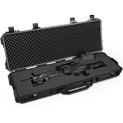 long gun case protective Waterproof tool box Instrument box suitcase Impact resistant toolbox with pre-cut foam