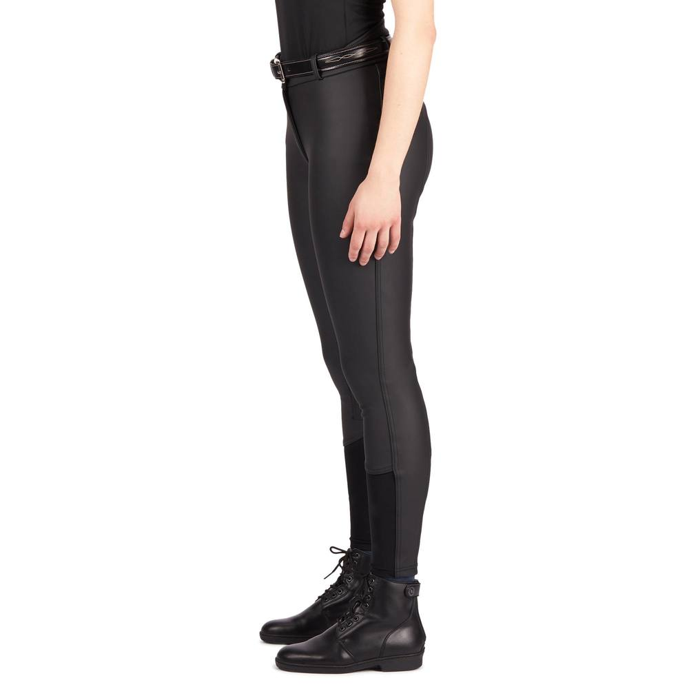 Image 4 - Women Horse Riding Pants Equestrian Breeches Sports Legging Ladies Knee Patch Jodphurs Riding Pant-in Breeches from Sports & Entertainment