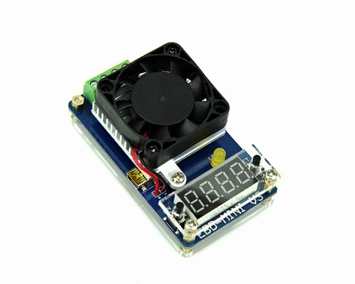 EBD Mini V3 battery capacity electronic load tester tests mobile power charging head