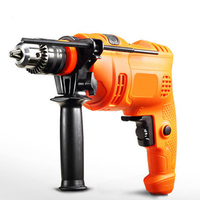 Household Impact Drill 220V Multi function Power Tool Electric Drill Light Hammer