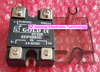 SDP0880D GOLD Authentic original  DC-DC Solid state relay DC SSR RELAY 3.5-32VDC, 12-80VDC 80A