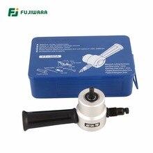 FUJIWARA Nibbler doble cabeza cortador de Metal máquina de corte de acero  hoja Nibbler taladro eléctrico Accesorios cd7481caf238