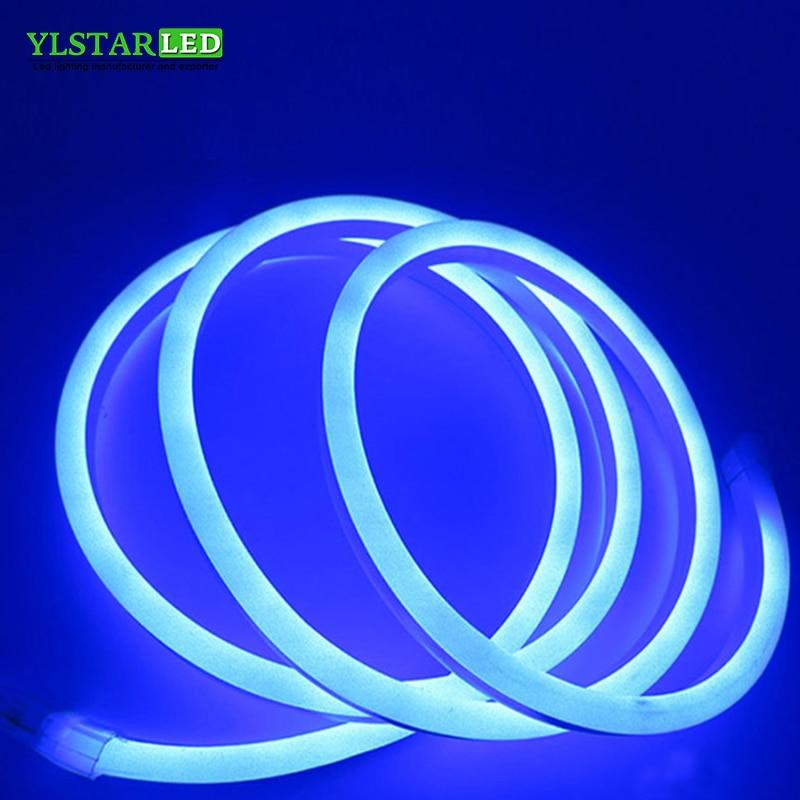 YLSTAR LED Neon Strip DC24V SMD2835 120LEDs/M soft Neon tape BAR light Power Plug Size:8x16mm/14x26mm Waterproof IP67