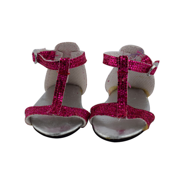 """New Meired Sandal Doll Accessories New Baby Born Doll Shoes For 18"""" Inch American Girl Doll Clothes And Shoes Accessories"""