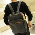 ¡ Caliente!! nuevo 2017 de cuero de moda Masculina bolsos de escuela del morral de los hombres bolsas de viaje mochilas escolares mochilas de los hombres