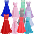 girl ceremony 2017 summer sleeveless O-neck princess dress teenagers girls school prom gowns dresses kids formal clothes 9 elsa