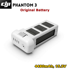 DJI Phantom 3 Battery 4480mAh 15.2V   For DJI Phantom 3 Professional Advance Stan  DJI original Intelligent battery