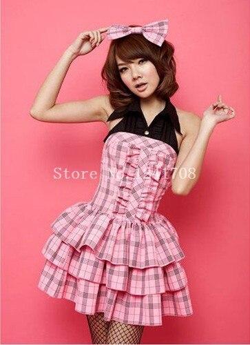 Online Get Cheap Pink Plaid Dress -Aliexpress.com  Alibaba Group
