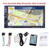 7 Inch Car GPS Navigation MP3 Player Car Bluetooth Stereo FM Radio 2DIN HD 8GB Australia