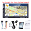 GUBANG 2DIN 7 Inch Car GPS Navigation With 8GB Australia Map MP5 Player FM Radio WCE