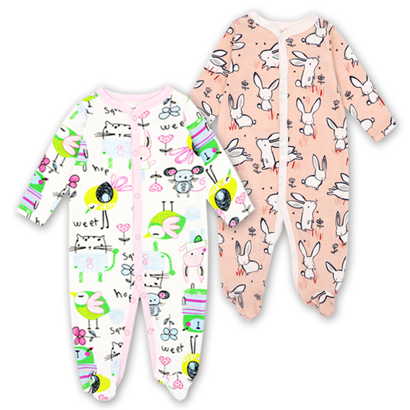 Beb/é Pijama Ni/ños Pelele de Algod/ón Body Manga Corta Verano Jumpsuit 3-12 Meses