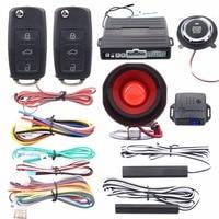 Quality Easyguard PKE Car Alarm System Passive Keyless Entry Kit Remote Engine Start Push Button Start