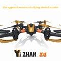 Yizhan x4 4ch 2.4g 6 eixos de controle remoto helicóptero toys quadrocopter ufo 3d voando zangão transmissor com display lcd