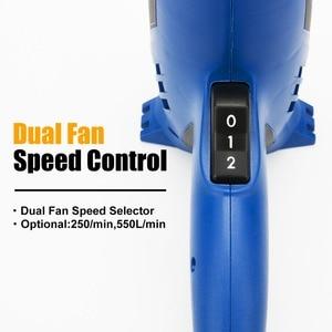 Image 5 - 2000W Electric Hot Air Gun 220V Industrial Dual Temperature controlled Building Hair Dryer Temperature Heat Gun NozzlePROSTOEMER
