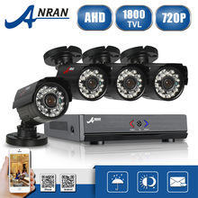 ANRAN 4CH HD HDMI 1080N DVR AHD Security Camera System 720P IR Waterproof CCTV Camera Outdoor Home Video Surveillance Kits