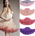Colorful Tutu Petticoat For Women Cheap Underskirt Crinoline Rockabilly Dance Petticoat Retro Vintage Fancy Tulle Skirt jupon