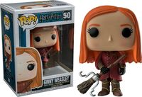 Barnes Noble Exclusive Funko pop Official Harry Potter Qudditch Ginny Weasley #50 Vinyl Action Figure Collectible Model Toy