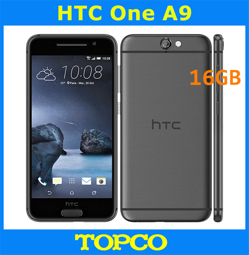 HTC One A9 16GB 2GB GSM/WCDMA/LTE New Mobile-Phone Android Unlocked Original 3G 4G GPS
