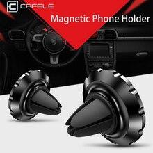 CAFELE Магнитная Автомобильная Подставка для телефона на вентиляционное отверстие мини-держатель для huawei P20 iphone X 8 7 samsung S9 gps держатель мобильного телефона